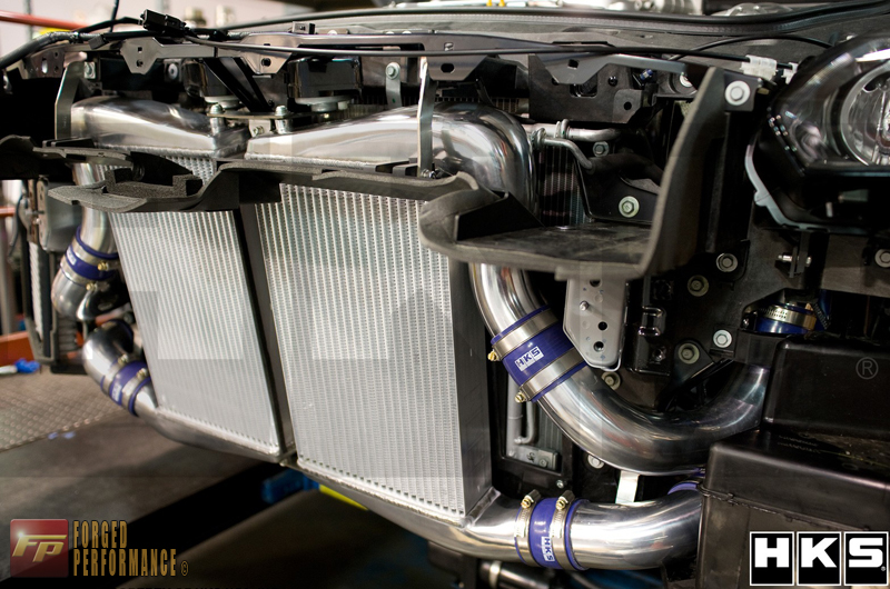 HKS Intercooler Kit Including Carbon Air Duct Nissan GT-R 2009-17