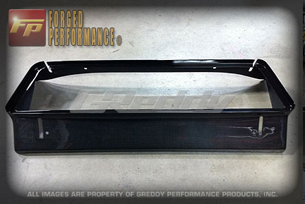 GReddy Carbon Intercooler Air Duct Nissan GT-R 2009-11