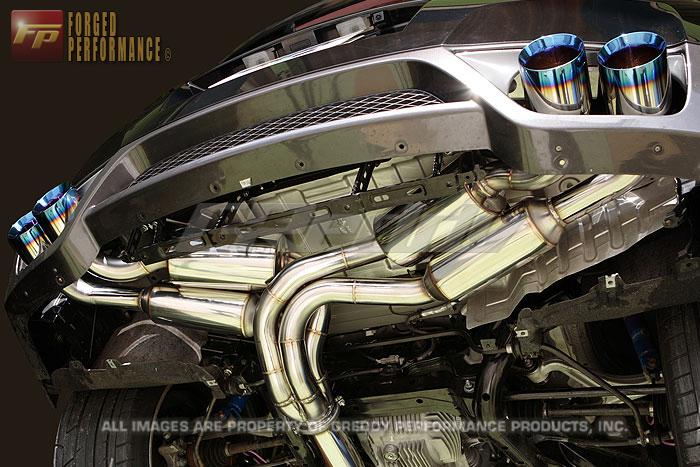 GReddy Power Extreme PE-R Exhaust Nissan GT-R 2009-17
