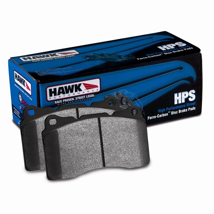 Hawk HPS Rear Brake Pads Nissan GT-R 2009-17