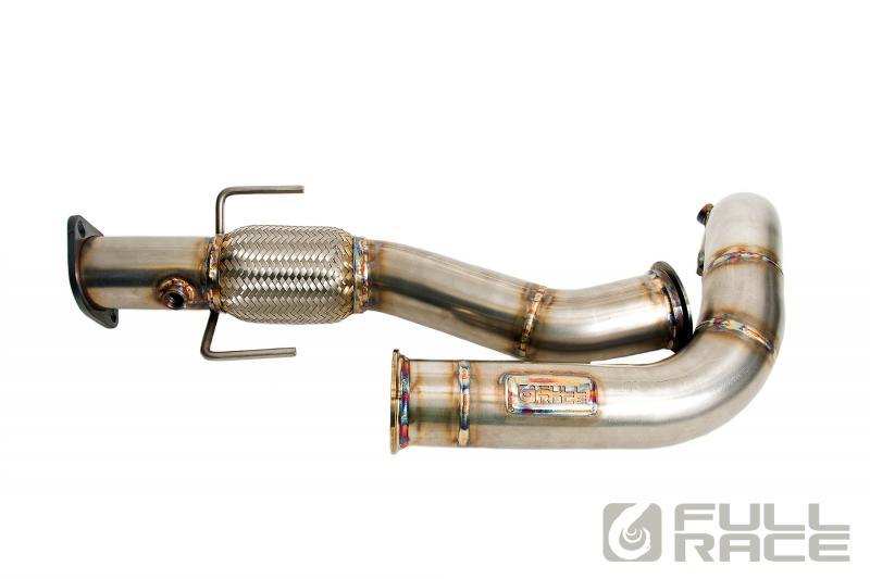 "Full-Race Twin Scroll 3"" Downpipe & Midpipe Mitsubishi Evolution IV-IX 1996-07"