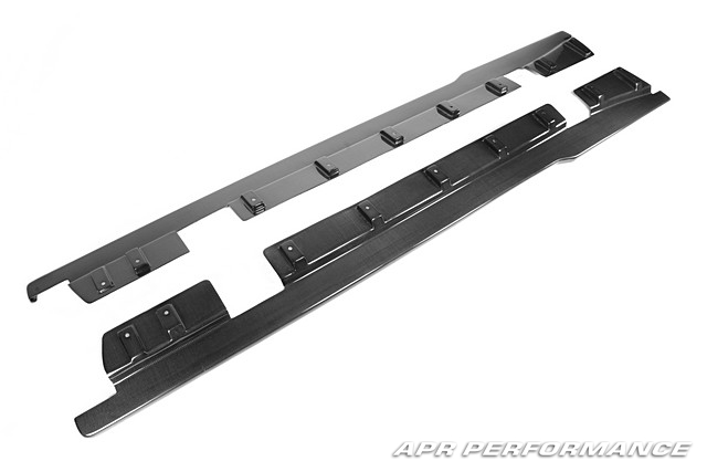 APR Side Rocker Extensions Nissan GT-R 2009-16