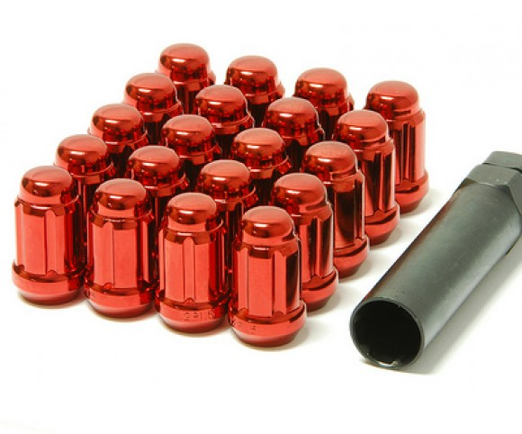 Muteki Classic Lug Nuts Short Closed End - Red -