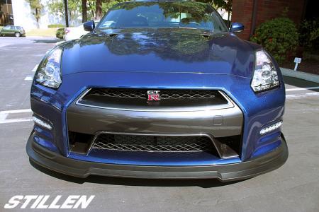 Stillen Front Lip Spoiler Nissan GT-R 2012-16