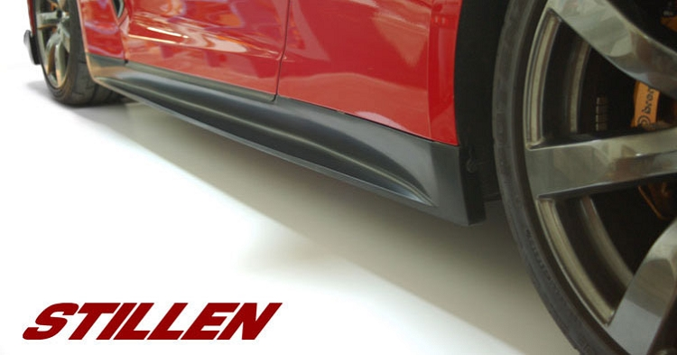 Stillen Side Skirts Nissan GT-R 2009-16