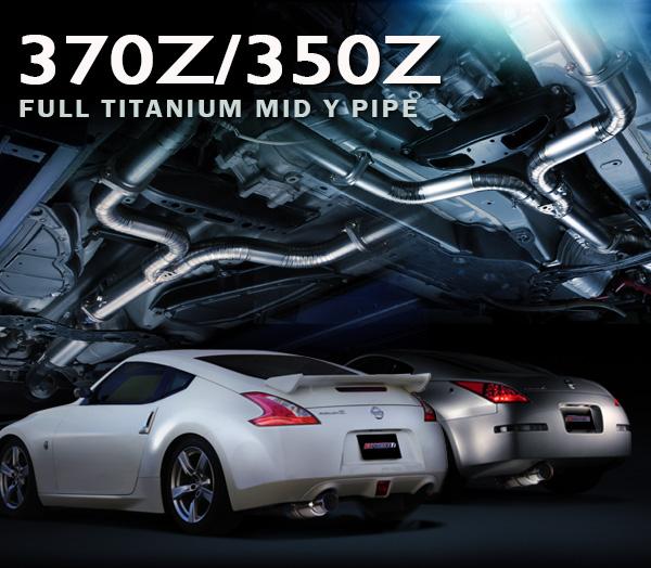 TOMEI Expreme TI Full Titanium Mid/Y-Pipe - Nissan 350Z DE. 350Z HR, & 370Z