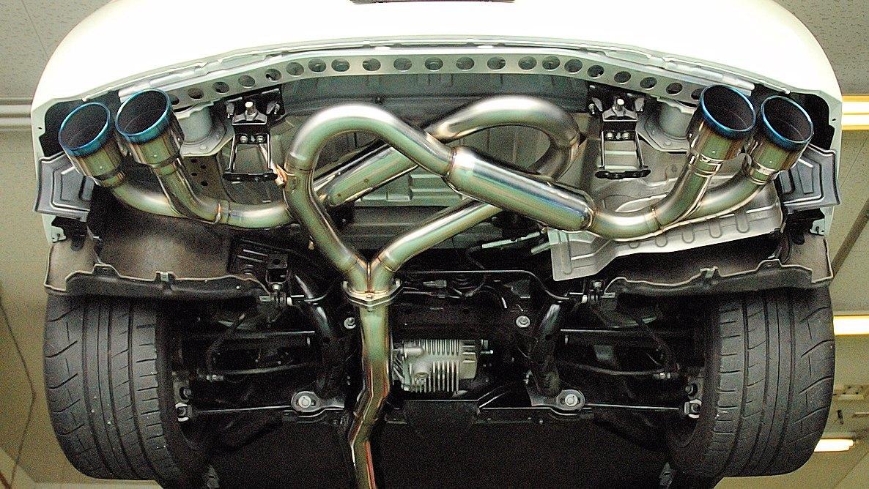 HKS Legamax Premium Tig Welded Exhaust Nissan GT-R 2009-17