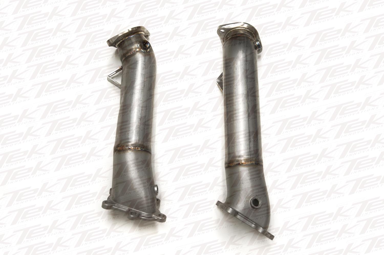 TiTek 90mm Cast Downpipes Nissan R35 GT-R 2008-17