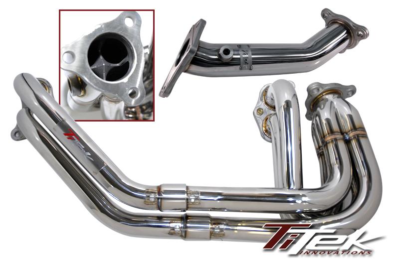 TiTek Unequal Length Header & Up Pipe Subaru WRX & STi 2002-14