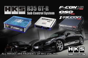 HKS F-CON Sub Control System Nissan GT-R 2009-11