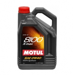 Motul 8100 0W40 X-Max Engine Oil 5 L