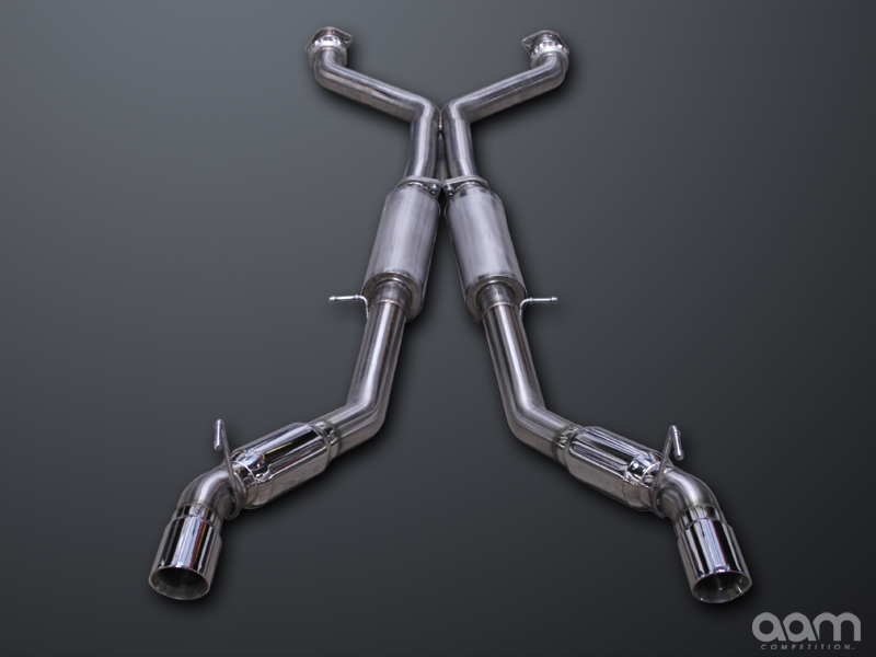 AAM Competition R-Line Exhaust System Nissan 370Z 2009-2011