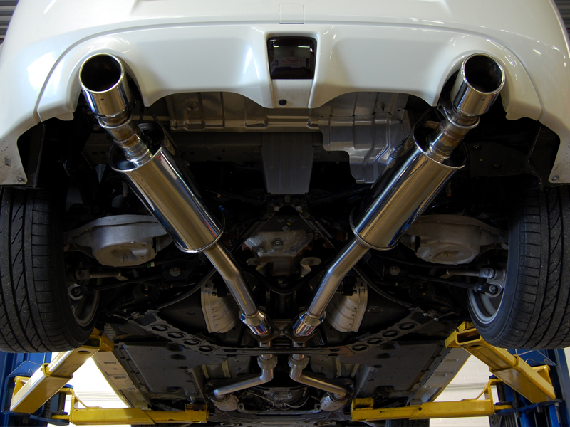 AAM Competition True Dual Exhaust System Nissan 370Z 2009-2011