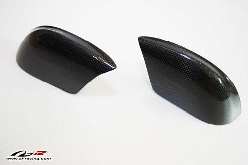 AJRC Carbon Fiber Mirror Covers Nissan GT-R 2009-16