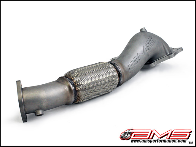 AMS Widemouth Down Pipe Mitsubishi Evolution X