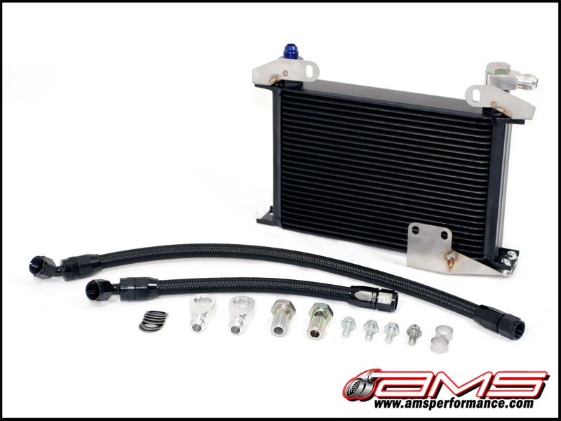AMS Upgraded Oil Cooler Kit Mitsubishi Evolution VIII & IX