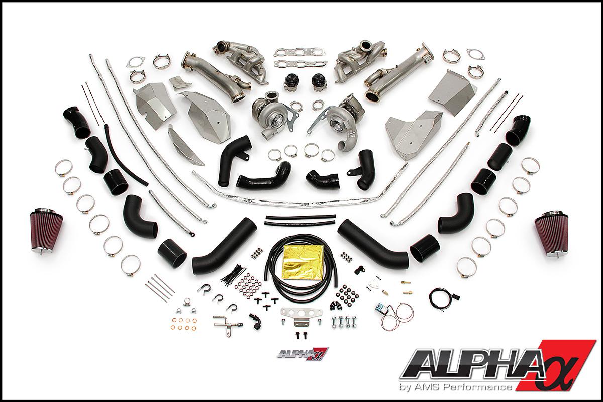 AMS Alpha 10 Turbo Kit R35 GT-R 2009-15