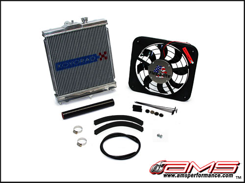 AMS Small Radiator Kit Mitsubishi Evolution VIII & IX