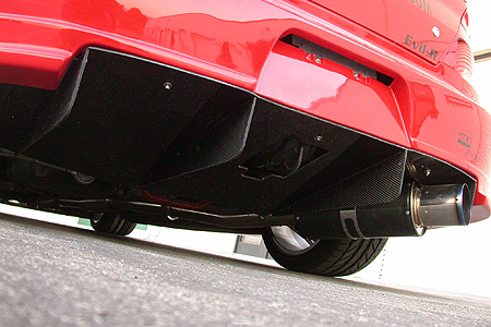 APR Performance Carbon Fiber Rear Diffuser Mitsubishi Evolution VIII