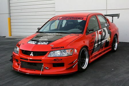 APR Evil-R Widebody Aerodynamics Kit Mitsubishi Evolution IX