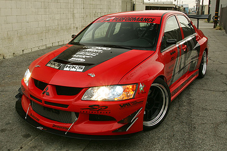 APR Evil-R Widebody Aerodynamics Kit Mitsubishi Evolution VIII