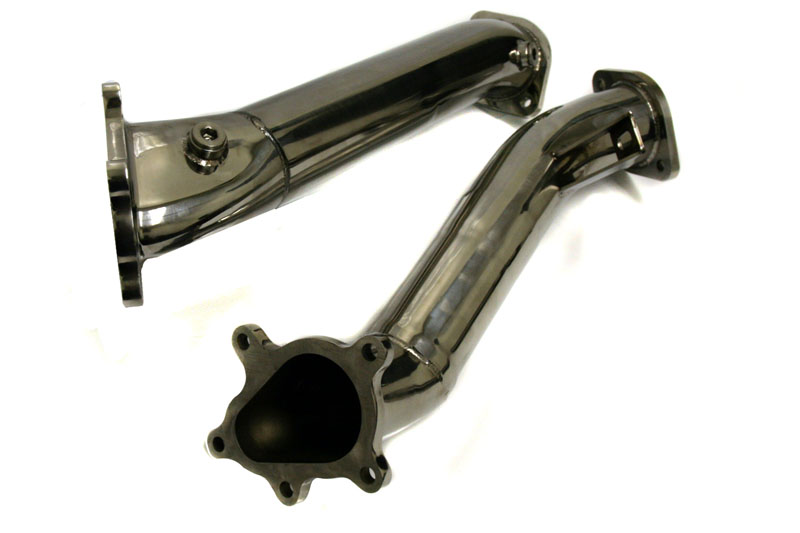 Agency Power Catless Down Pipes Nissan GT-R 2009-17