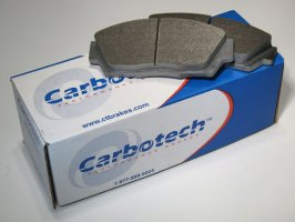 Carbotech AX6 Front Brake Pads Porsche 997 Carrera 2 Turbo Look & C2 S with Iron Discs 2006-2010