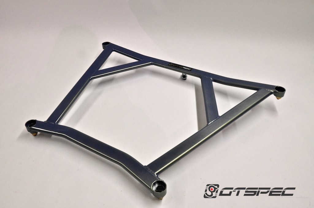 GTSPEC Mid Chassis 4 Point Ladder Brace Nissan GT-R 2009-17