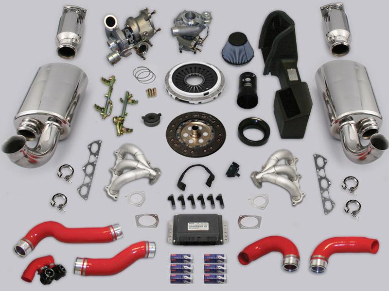 EVOMS GT660 6-Speed Porsche 996 Turbo