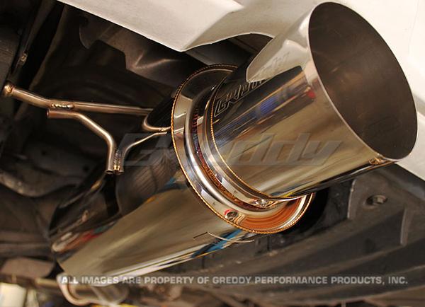 GReddy Racing Sport (RS) Cat-Back Exhaust Subaru STi 2004-07