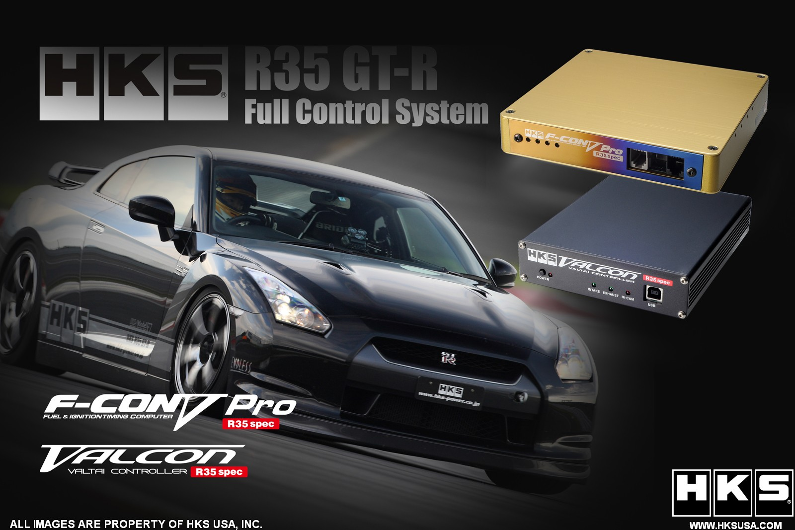 HKS F-CON Full Control System Nissan GT-R 2009-17
