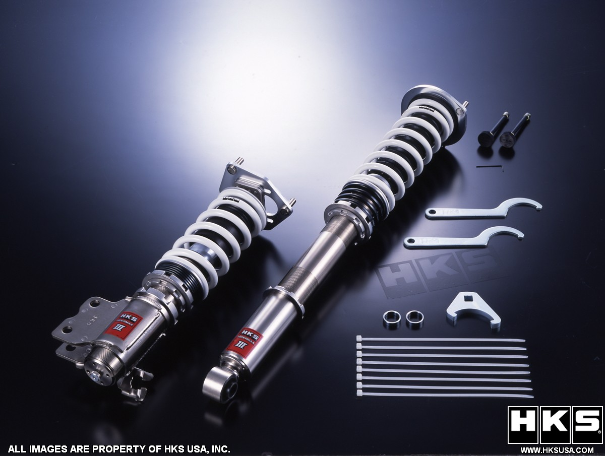 HKS Hypermax III Coilovers BMW 335i 2007-2010