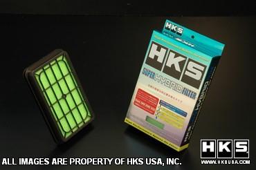 HKS Super Hybrid Intake Filter Subaru WRX & STi 2008-10