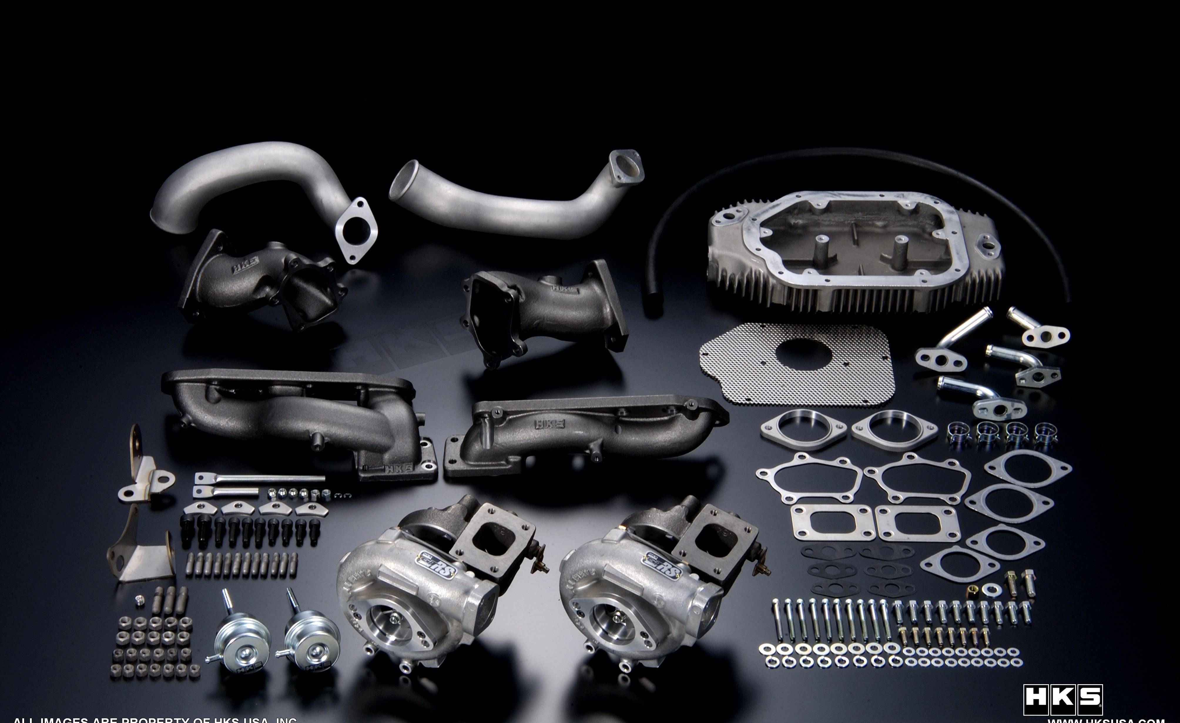 HKS GT3037S Turbo Kit Mitsubishi Evolution VIII