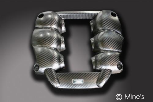 Mines Carbon Fiber Engine Cover Nissan GT-R 2009-11