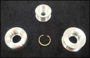 SSP Billet Aluminum Pulley Kit Nissan GT-R 2009-2014
