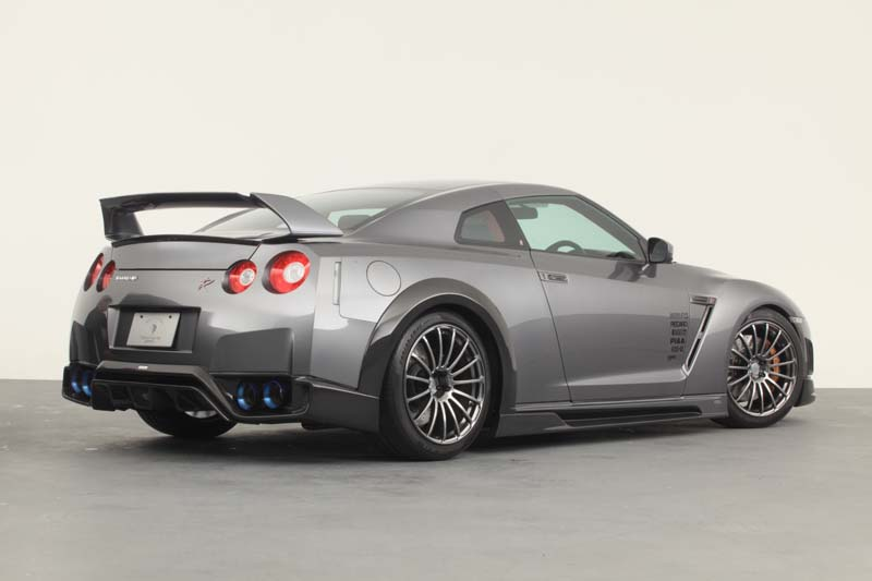 Tommy Kaira Exhaust System Nissan GT-R 2009-17