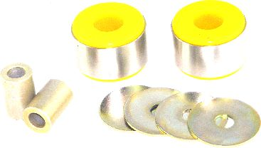 Whiteline Rear Differential Mount Bushings Subaru WRX & STi 2008-14