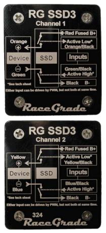 RaceGrade SSD 3 / Sink Source Output Driver