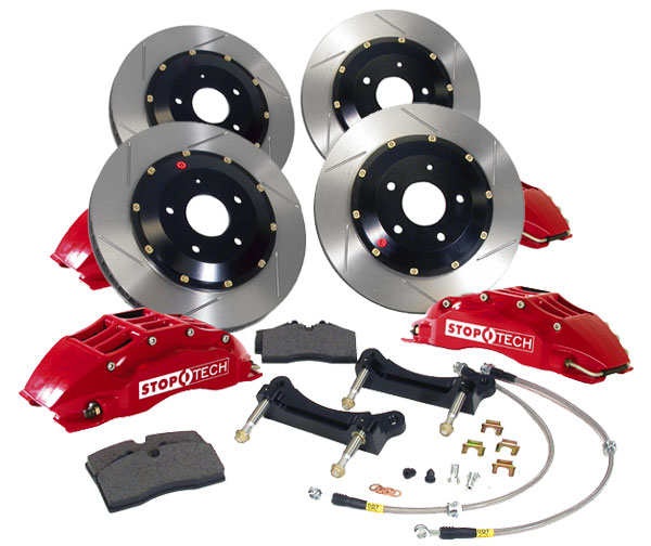 StopTech Big Brake Kit 6 Piston Subaru STi 2008-2011