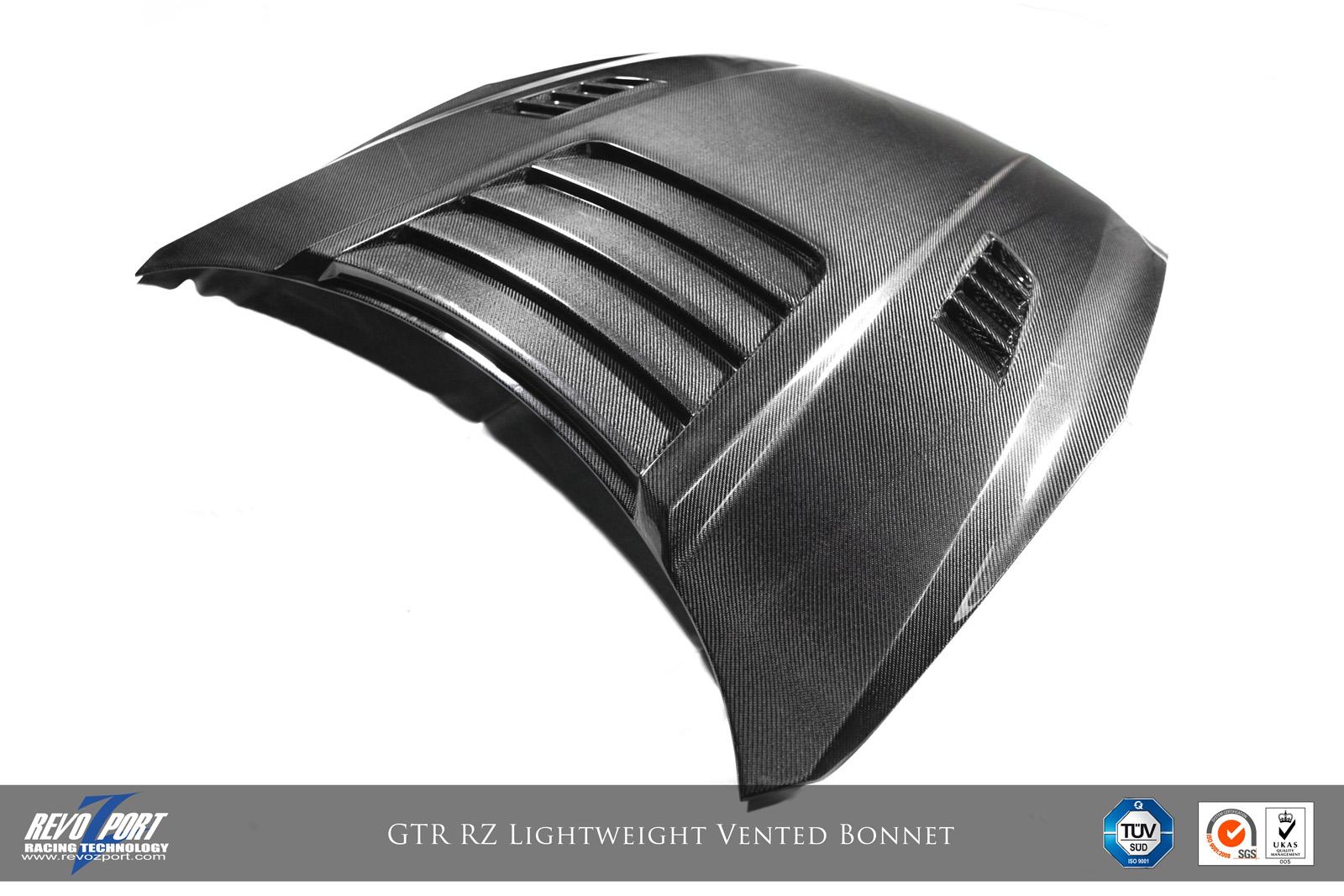 Revosport RZ Lightweight Vented Bonnet Nissan GT-R 2008-16