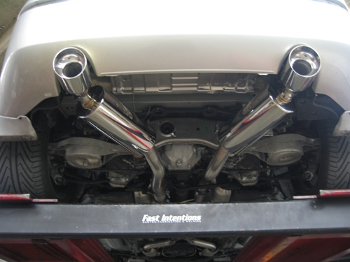 Fast Intentions Cat Back Exhaust Nissan 350Z 2003-2006