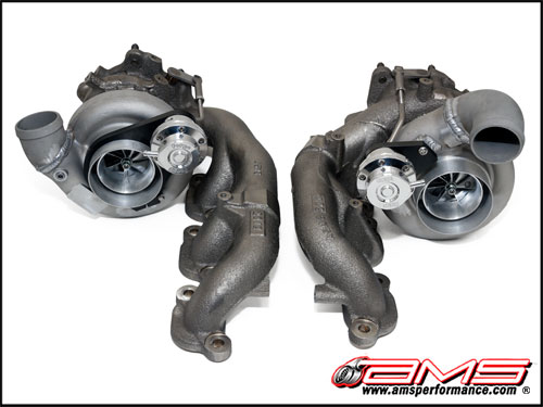 AMS Alpha 9 Bolt-On Turbo Upgrade R35 GT-R 2009-17