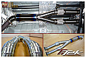 TiTek Titanium Resonated Mid Pipe Nissan GT-R 2009-17