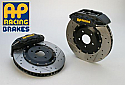 AP Racing 6-Piston Front Drilled/Slotted RT Big Brake Kit Mitsubishi Evolution X 2008-14