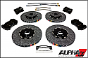 AMS Alpha Carbon Ceramic Brake Package R35 GT-R 2008-17