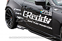 GReddy X Rocket Bunny 86 Aero, Ver.1 -Side Skirts - ONLY - Subaru BRZ / Scion FR-S 2013-15