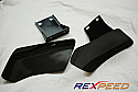 Rexpeed Carbon Fiber Brake Cooling Guides Mitsubishi Evolution VIII & IX 2003-07