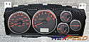 Rexpeed CT9A Carbon Gauge Cluster-High Gloss Mitsubishi Evolution VIII & IX 2003-07