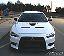 Rexpeed R-Style Carbon Splitter Mitsubishi Evolution X 2008-14